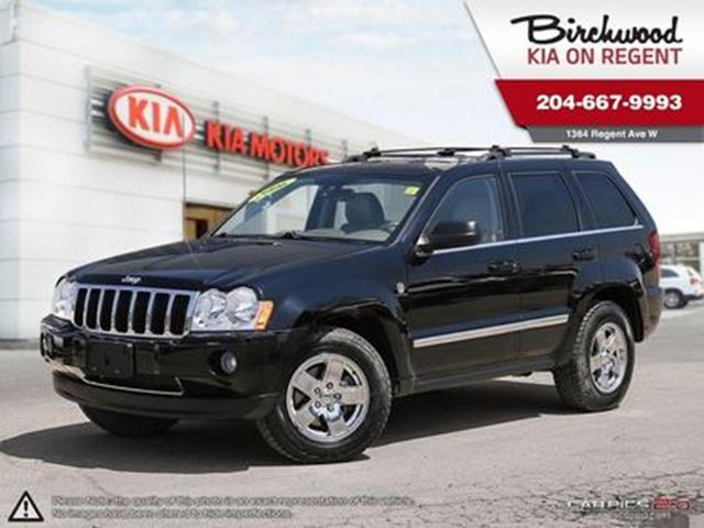 2006 JEEP GRAND CHEROKEE Limited New Trade & Getting Ready for you in Winnipeg, Manitoba
