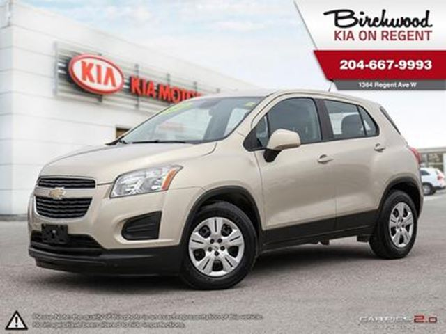 2014 CHEVROLET TRAX LS **Extra Long Weekend Sale** in Winnipeg, Manitoba
