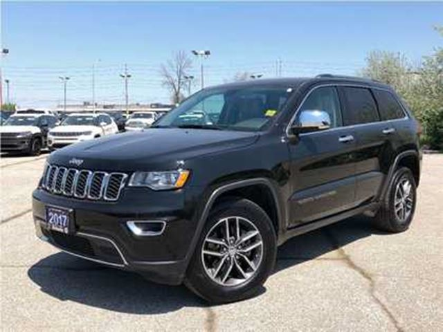 2017 JEEP GRAND CHEROKEE LIMITED**LEATHER**8.4 TOUCHSCREEN**NAVIGATION** in Mississauga, Ontario