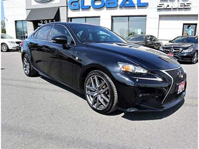 2014 LEXUS IS 350 F-SPORT AWD NAV. REV. CAM XM RADIO . in Ottawa, Ontario
