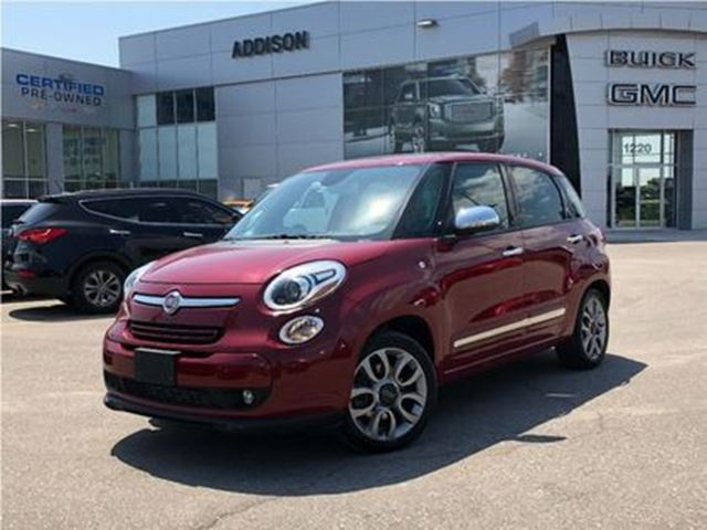 2015 FIAT 500L Lounge GPS Leather Pano roof in Mississauga, Ontario