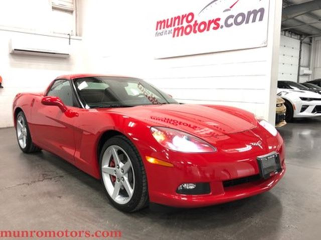 2006 CHEVROLET CORVETTE Victory Red Automatic Low KMS in St George Brant, Ontario