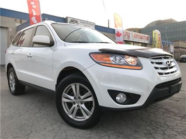 2010 Hyundai Santa Fe Limited 3.5_Navigation_Backup Cam_Leather_sunroof in Oakville, Ontario