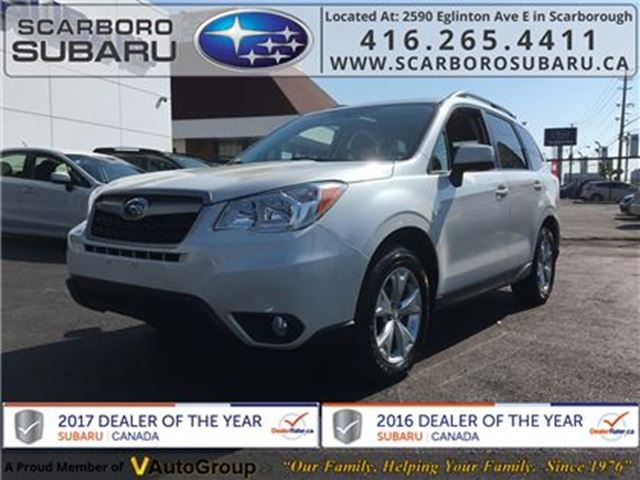 2014 SUBARU FORESTER 2.5i Touring PKG, FROM 1.9% FINANCING AVAILABLE in Scarborough, Ontario