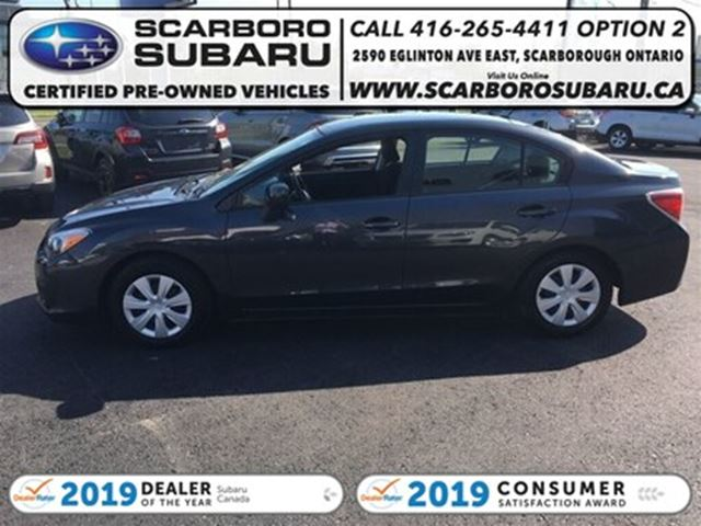 2014 SUBARU IMPREZA 2.0i, FROM 1.9% FINANCING AVAILABLE in Scarborough, Ontario