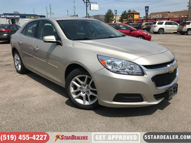 2014 CHEVROLET MALIBU 1LT   CAM   SAT RADIO   BLUETOOTH in London, Ontario