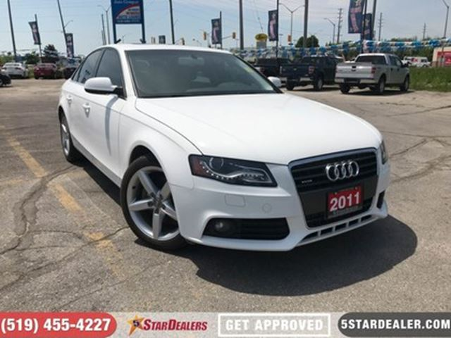 2011 AUDI A4 2.0T Premium    LEATHER   ROOF in London, Ontario