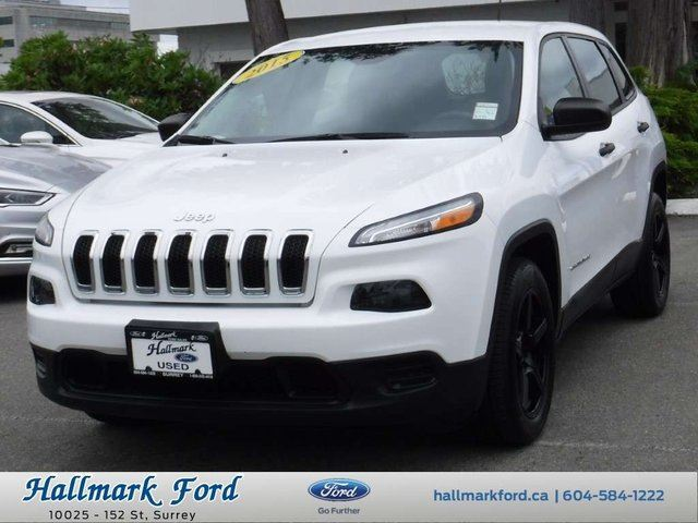 2015 JEEP CHEROKEE Sport FWD in Surrey, British Columbia