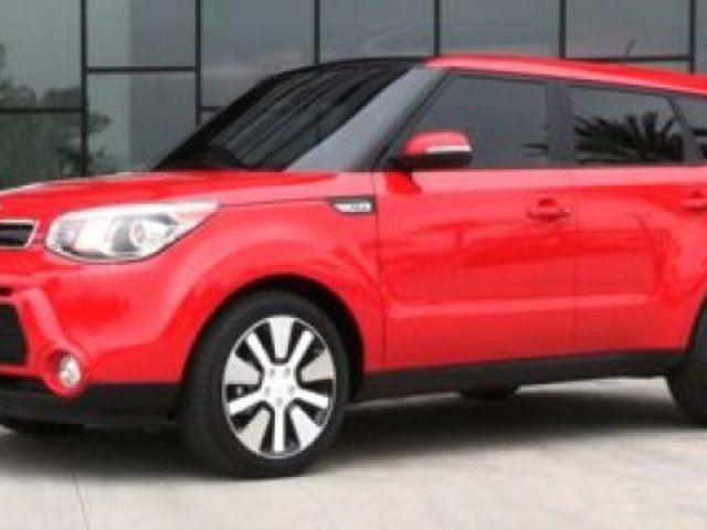 2015 KIA Soul SX LUXURY Navigation (GPS), Leather, Heated Seats, Sunroof, Back-up Cam, A/C, - Edmonton in Sherwood Park, Alberta