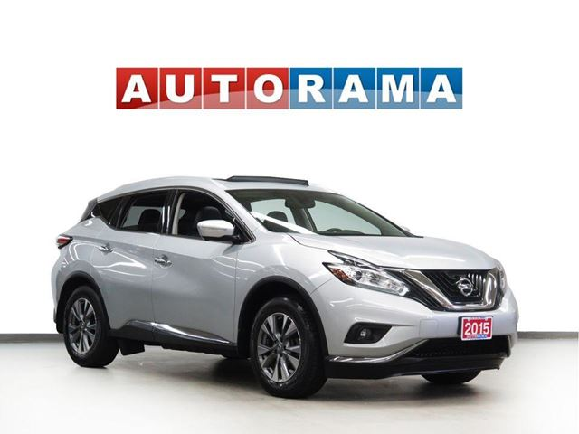 2015 NISSAN MURANO SL NAVIGATION LEATHER PAN SUNROOF 4WD BACKUP CAM in North York, Ontario