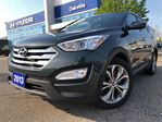 2013 Hyundai Santa Fe 2.0T  SE  AWD  LEATHER  PAN ROOF  NO ACCIDENT in Oakville, Ontario