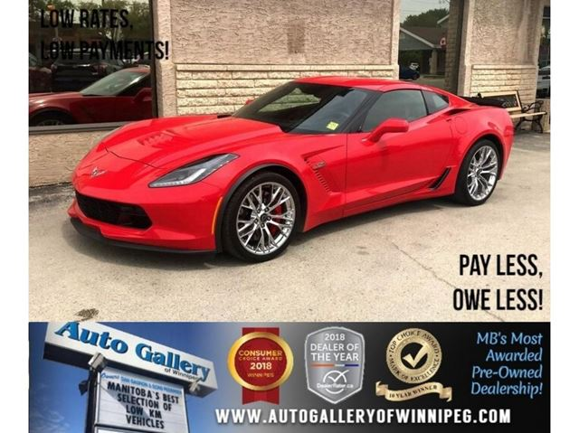 2016 CHEVROLET CORVETTE Z06 3LZ *S.charged! in Winnipeg, Manitoba