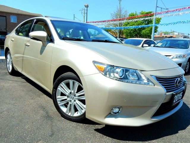2015 LEXUS ES 350 PREMIUM  NAVIGATION  LEATHER.ROOF  96KM in Kitchener, Ontario