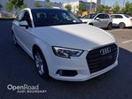 2017 Audi A3 4dr Sdn FrontTrak 2.0T Komfort FINANCE FOR AS L in Vancouver, British Columbia