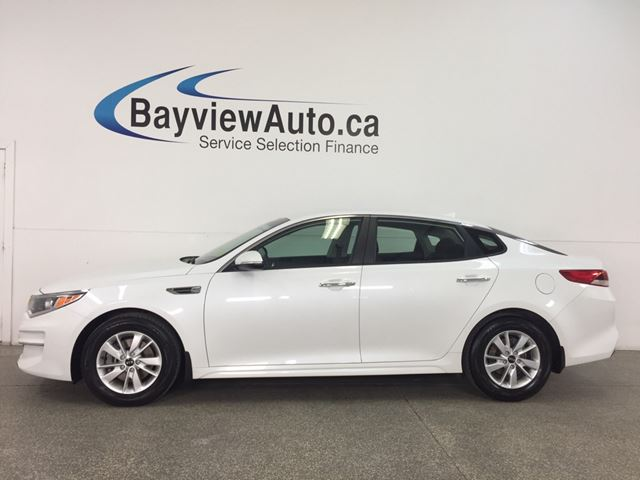 2017 KIA OPTIMA LX - ALLOYS! HEATED SEATS! A/C! BLUETOOTH! in Belleville, Ontario