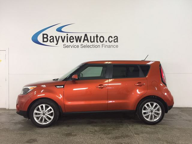 2018 KIA SOUL EX - ALLOYS! HEATED SEATS! A/C! REVERSE CAM! CRUISE! in Belleville, Ontario