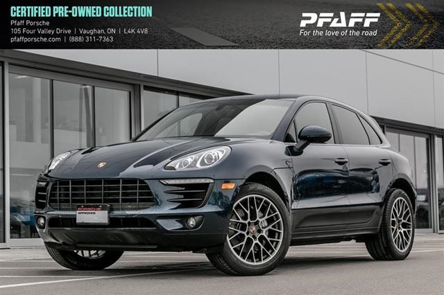 2016 PORSCHE MACAN S in Woodbridge, Ontario