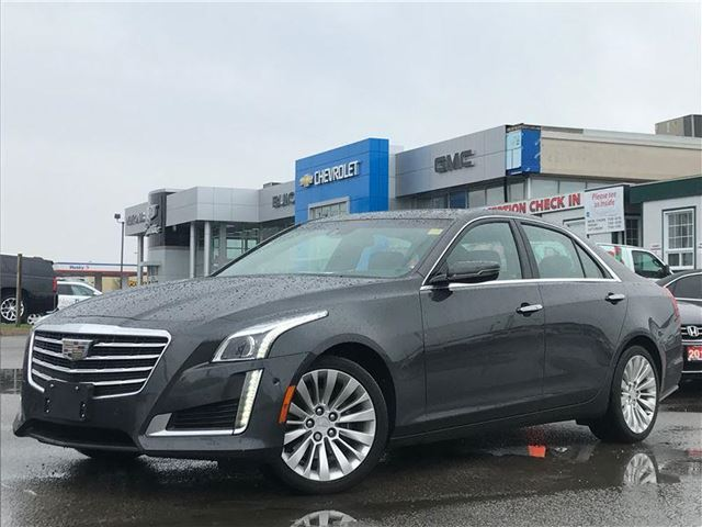 2017 CADILLAC CTS 3.6L Premium Luxury Premium Luxury, AWD, NAV, ONE OWNER, NO ACCIDENTS in Newmarket, Ontario