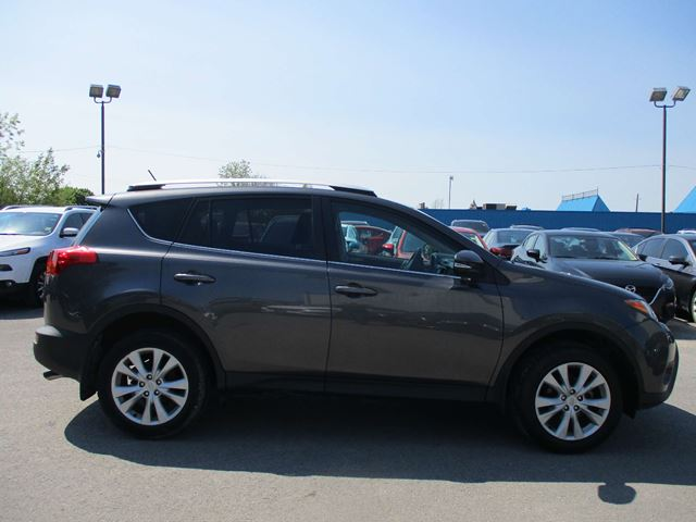 2015 TOYOTA RAV4 Limited LIMITED, LEATHER, SUNROOF, NAVIGATION, FULL LOAD!! in Kingston, Ontario