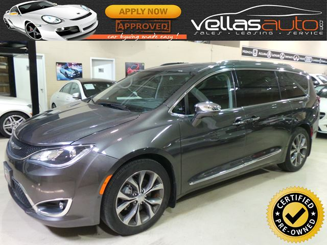 2017 CHRYSLER PACIFICA LIMITED| NAVIGATION| DVD SYST| ACTIVE BRAKING in Vaughan, Ontario