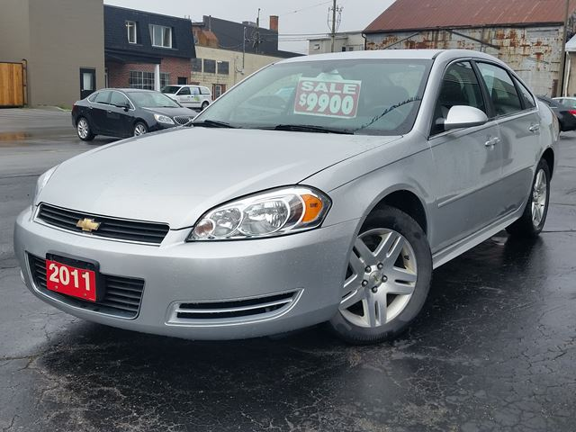 2011 Chevrolet Impala LT,3.5-V6,POWER SEAT,REMOTE START.ALLOYS in Dunnville, Ontario