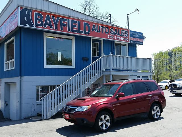 2009 SUBARU FORESTER XT Limited **Turbo/Leather/Panoramic Roof** in Barrie, Ontario