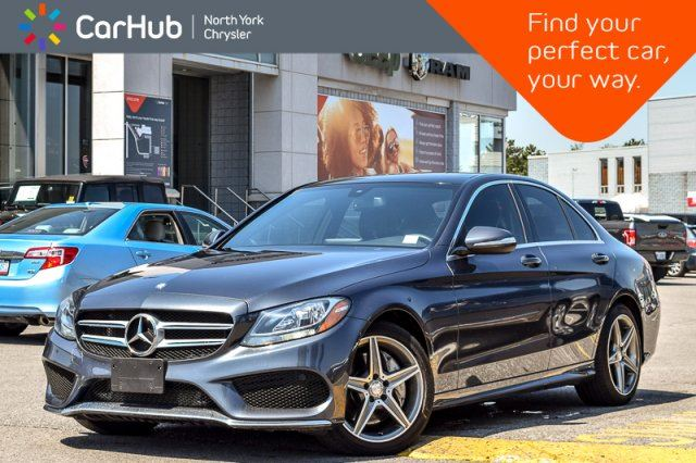 2015 MERCEDES-BENZ C-CLASS C 300 4Matic MultimediaPkg PanoSunroof Nav BackUpCam 18Alloys  in Thornhill, Ontario