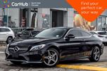 2017 Mercedes-Benz C-Class C 300 Cpe 4Matic SportPkg PanoSunroof Nav BackUpCam 18Alloys  in Thornhill, Ontario