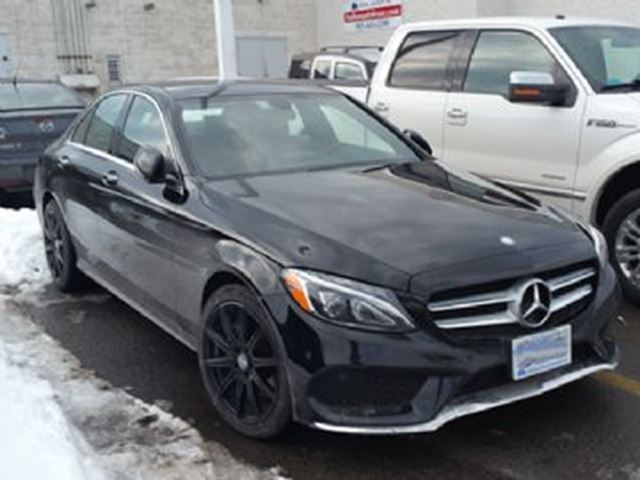 2015 MERCEDES-BENZ C-CLASS 4dr Sdn C400 4MATIC in Mississauga, Ontario
