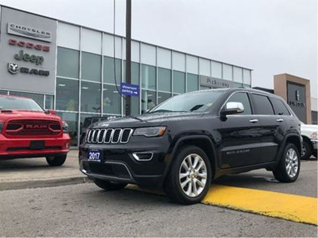 2017 JEEP GRAND CHEROKEE Limited HITCH LUXURY PKG PANO SR 20ALLOYS in Pickering, Ontario