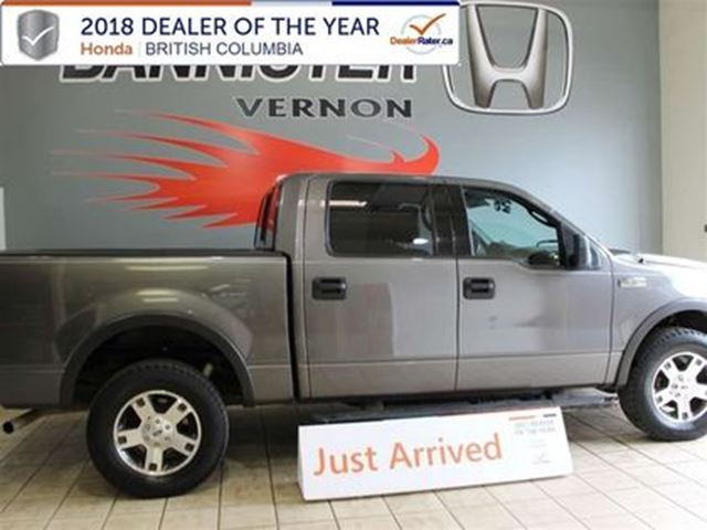 2004 FORD F-150 XLT 4x4 Crew Cab 5.5' Styleside 138.7 in. WB in Vernon, British Columbia