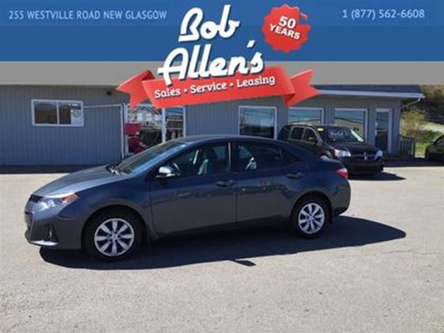 2015 TOYOTA COROLLA S in New Glasgow, Nova Scotia