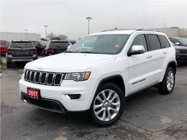2017 JEEP GRAND CHEROKEE LIMITED**LEATHER**8.4 TOUCHSCREEN**BLUETOOTH** in Mississauga, Ontario