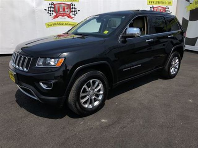 2015 JEEP GRAND CHEROKEE Limited, Automatic, Navigation, Sunroof, 4*4 in Burlington, Ontario