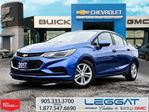 2017 Chevrolet Cruze Lease 0 Down $309 monthly Plus HST * in Rexdale, Ontario