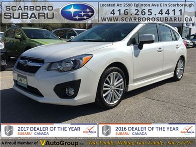 2014 SUBARU IMPREZA 2.0i Sport PKG, FROM 1.9% FINANCING AVAILABLE in Scarborough, Ontario
