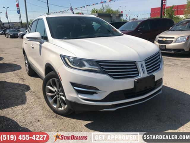 2015 LINCOLN MKC AWD   NAV   LEATHER   ROOF in London, Ontario