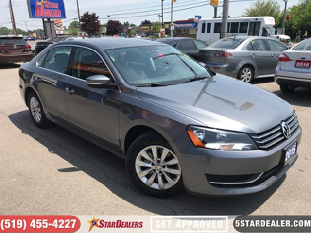 2015 VOLKSWAGEN PASSAT 1.8 TSI Trendline   ONE OWNER   HEATED SEATS in London, Ontario
