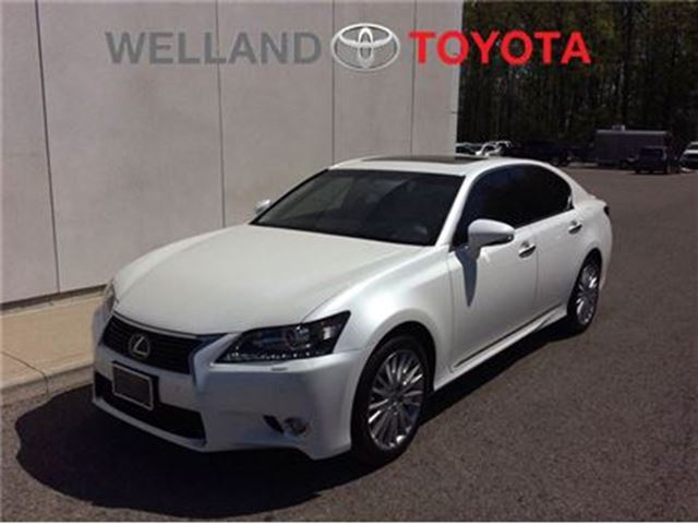 2013 LEXUS GS 350 GS 350 AWD TECHNOLOGY PLUS PKG. in Welland, Ontario