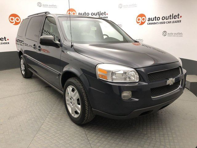2009 CHEVROLET UPLANDER $117 / BI-WEEKLY PAYMENTS O.A.C. !!! FULLY INSPECTED !!! in Red Deer, Alberta