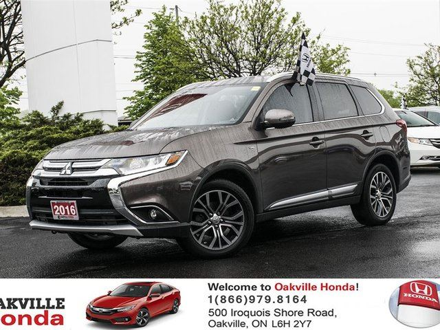 2016 MITSUBISHI OUTLANDER GT S-AWC in Oakville, Ontario