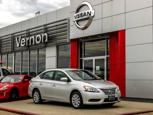 2014 NISSAN SENTRA S in Vernon, British Columbia