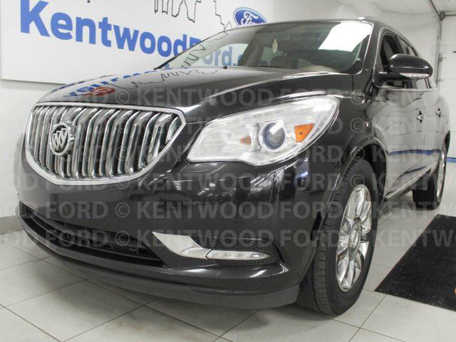 2013 BUICK ENCLAVE Premium AWD enclave loaded to the roof, NAV, sunroofs, heated/cooled power leather seats, power liftgate, rear climate control in Edmonton, Alberta