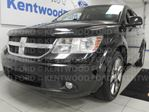 2010 Dodge Journey RT AWD with sunroof, heated power leather seats, DVD entertainment system, rear climate control in Edmonton, Alberta