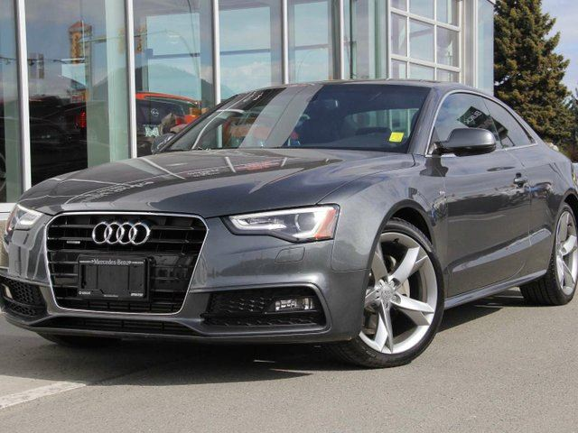 2013 AUDI A5 2.0T S line Competition 2dr All-wheel Drive quattro Coupe in Kamloops, British Columbia
