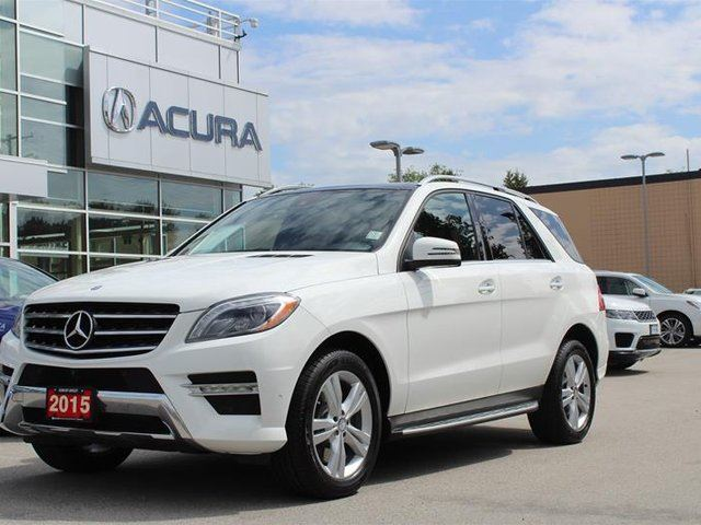 2015 MERCEDES-BENZ M-Class 4MATIC in Langley, British Columbia