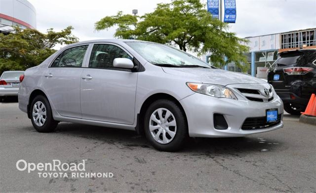 2012 TOYOTA COROLLA CE in Richmond, British Columbia