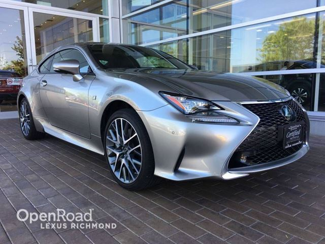 2015 LEXUS RC 350 F Sport series 2 - NO ACCIDENT/F SPORT SEATS/AD in Richmond, British Columbia