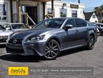 2013 Lexus GS 350 AWD F Sport NAVI COOLED SEATS CABERNET LEATHER in Ottawa, Ontario