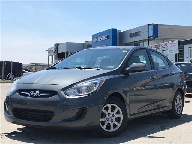2013 HYUNDAI ACCENT GLS, PWR GRP, HEATED SEATS, ONE OWNER in Newmarket, Ontario